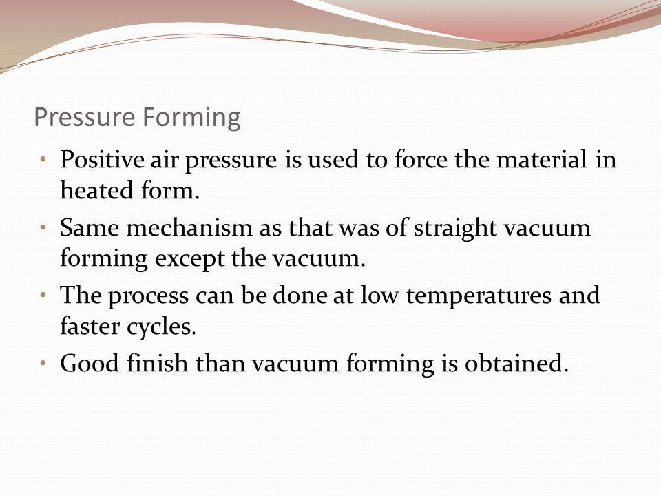 how to create positive air pressure