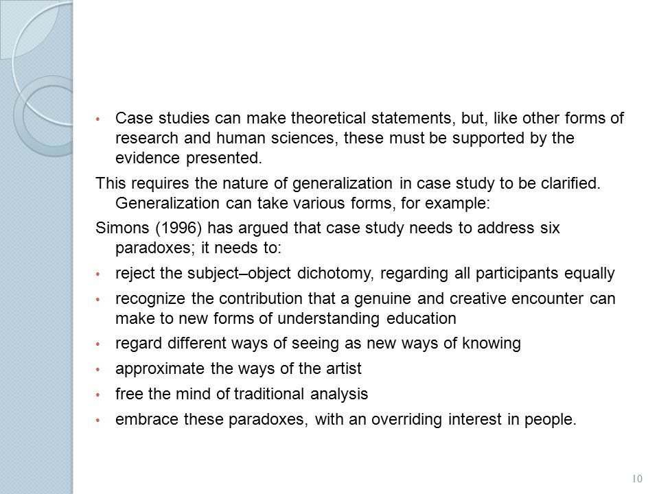 Strategies for Generalizing Findings in Survey Research