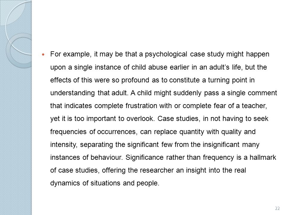 child study observation essay