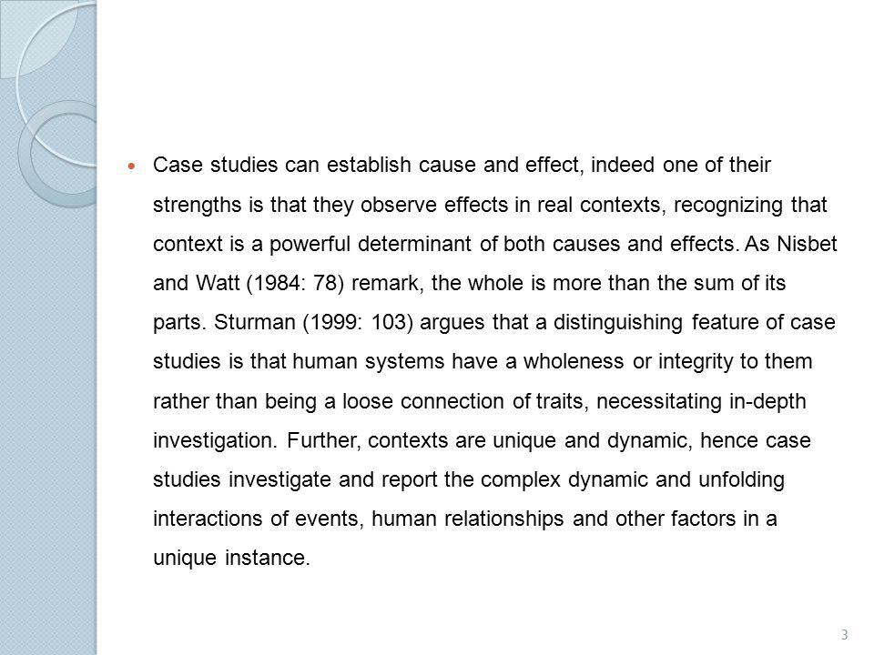 cause and effect zengers case Synaptic dysfunction and degeneration are likely the direct cause of the  j (2006) effect of sample collection  zegers i , hojrup p.
