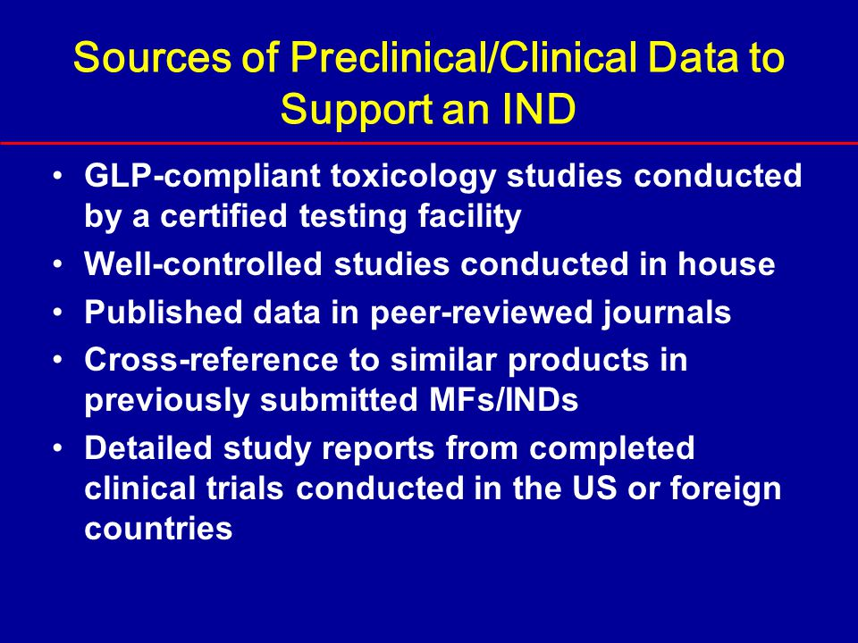 clinical information and nonclinical data There are several types of non-clinical study, with their own objectives and specific requirements eupati.