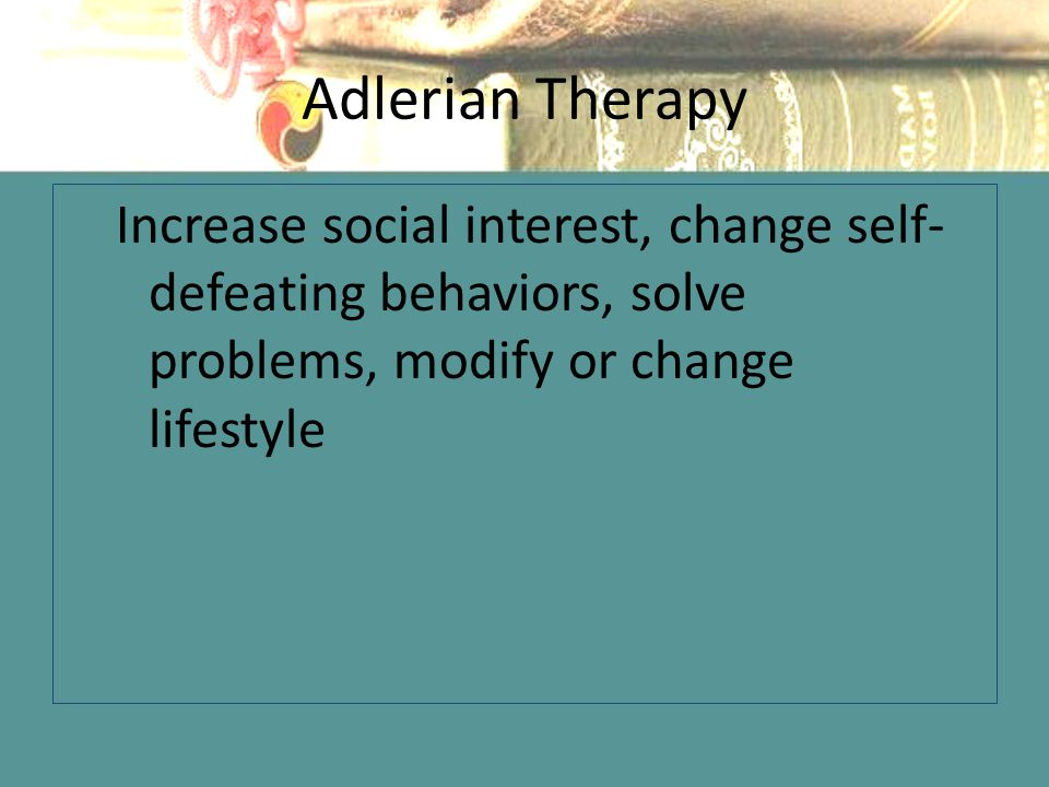 social interest adlerian theory Learning, a pictorial reference can enhance the teaching and learning of adlerian theory, representing a commitment to not determined, by one's past social interest the final adlerian principle discussed and portrayed here has been referred to as the cornerstone of mental health (rareshide & kern, 1991) the literal.