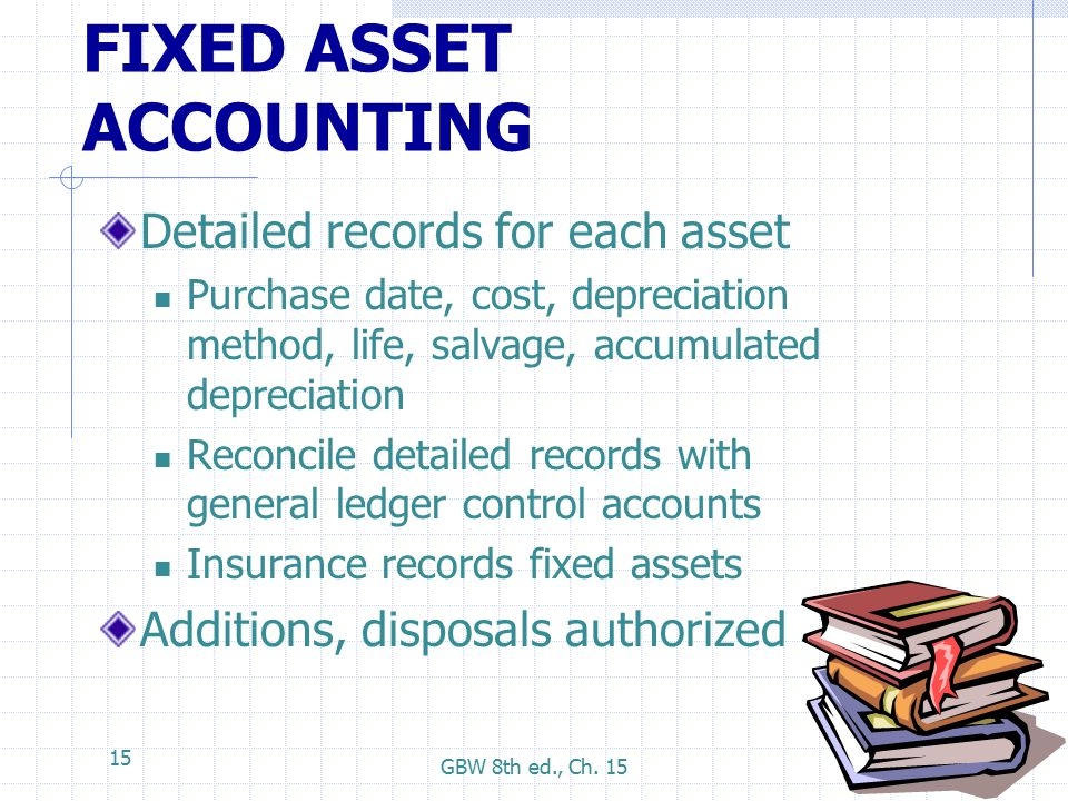 accounting for general capital assets a Capital asset accounting / fixed asset inventory  year's capital outlay  expenditure line items within the general ledger tagging of the.
