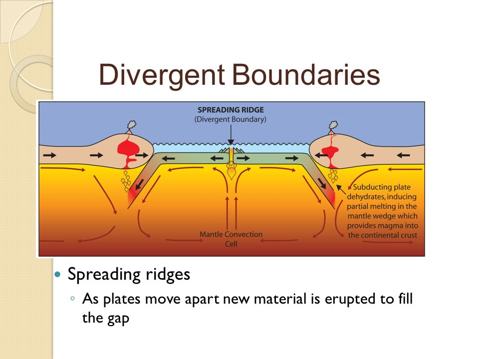 What happens at tectonic plate boundaries? - ppt video online download