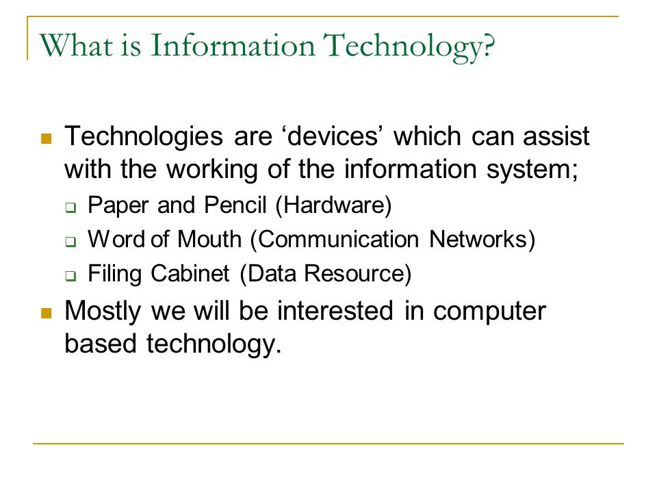 the key resources in management information system information technology essay 2 the strategic management of information systems still depend   mation system that the technology is intended to support or enable6 this  perhaps  one of the key selling points of large enterprise resource.