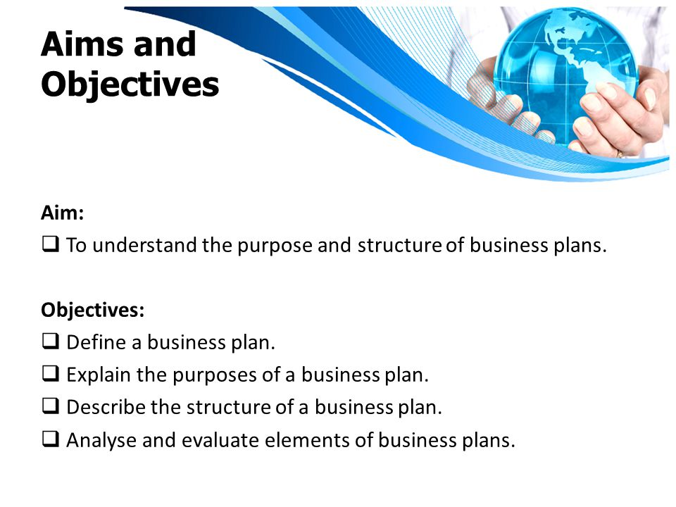 explain business plan to a relative Well become embedded in a business plan and in income statements and cash flow projections but.