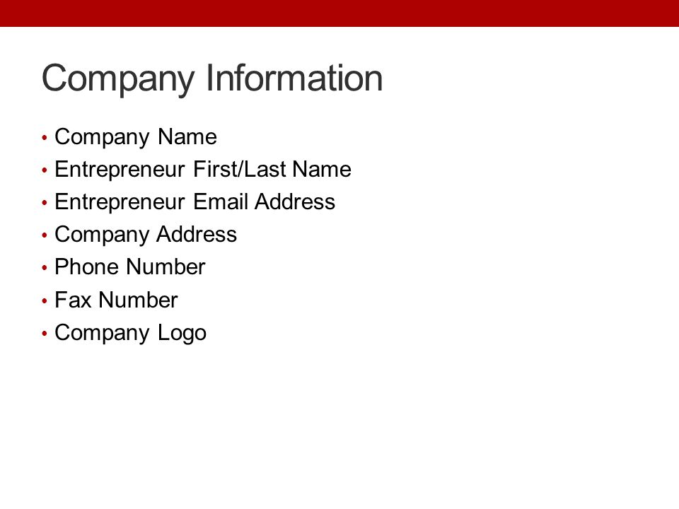Business Plan Template Ppt Video Online Download - Entrepreneur business plan template