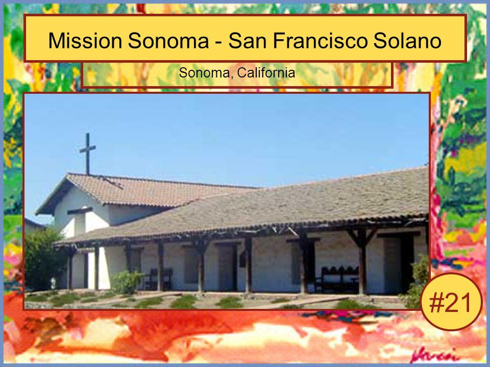 Mission Sonoma - San Francisco Solano