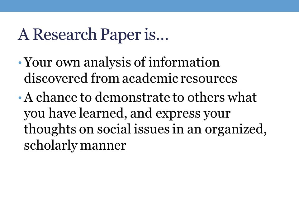 help on starting a research paper Steps in writing a research paper  a series of steps, starting with developing a research question and working thesis, will lead you through writing a research paper.