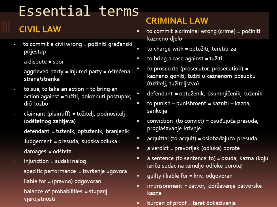 The Common Law and Civil Law Traditions