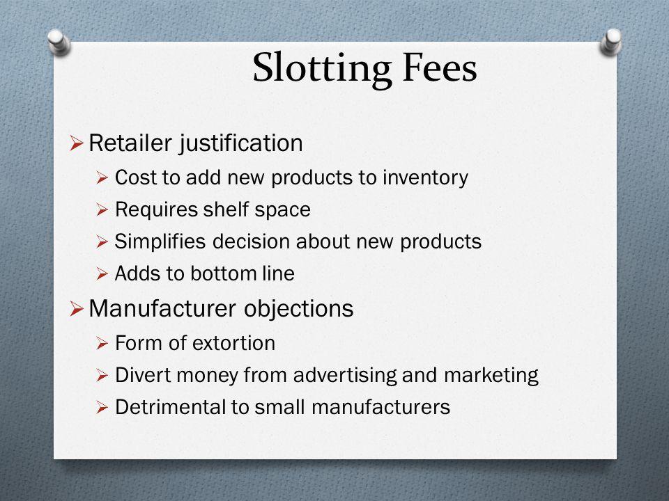 slotting fee
