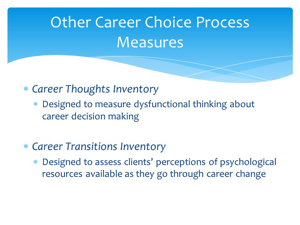 Decision making process changing jobs