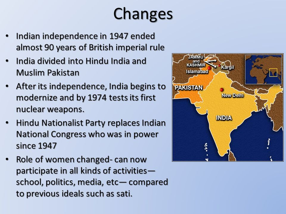 Changes in indian economy after independence