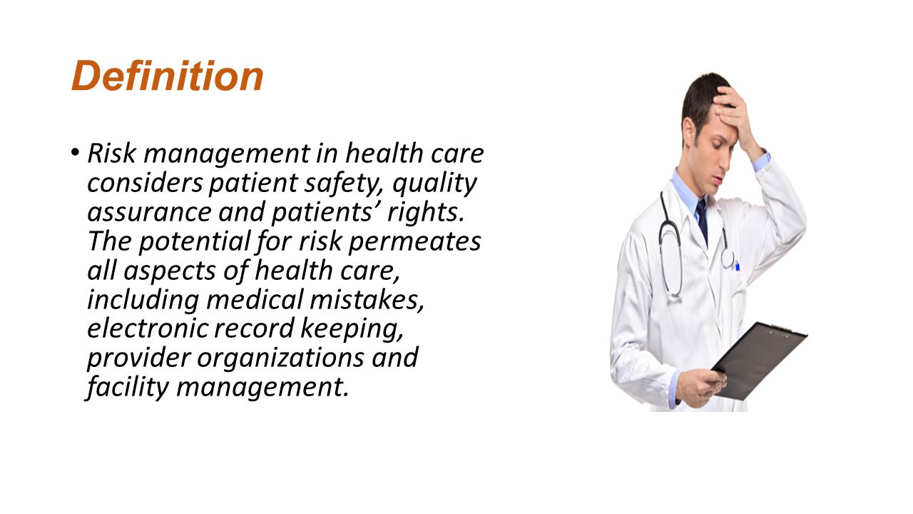 Risk Management Planning Related To Health Information