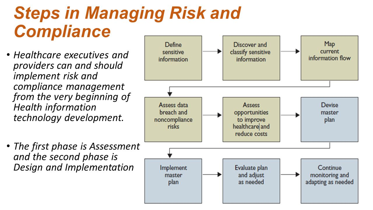 Risk management planning related to Health Information Technology ...