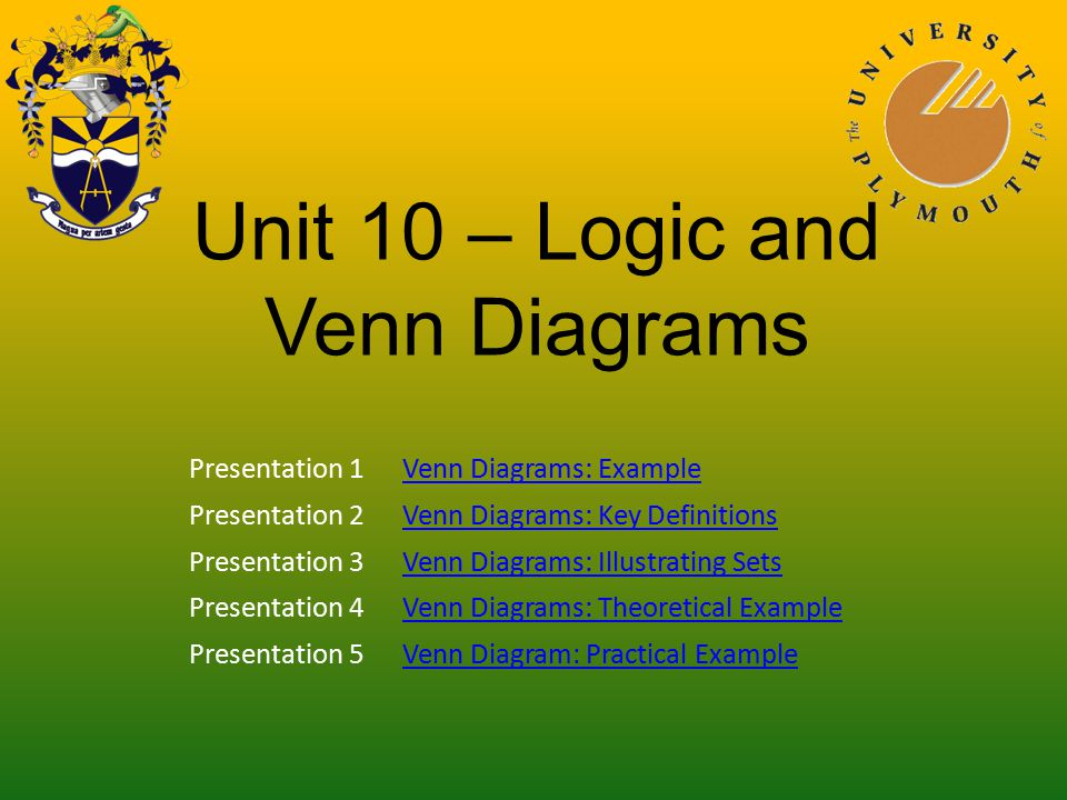 Unit 10 logic and venn diagrams ppt video online download unit 10 logic and venn diagrams ccuart Image collections