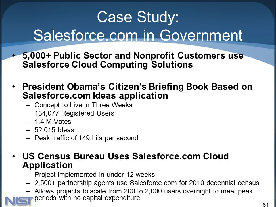case study 3 4 salesforce com cloud