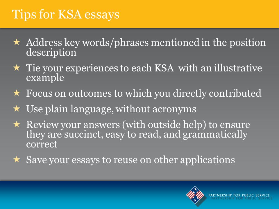 Ksa Ability To Communicate Effectively Other Than In Writing Sample Responses Sentence That We Get