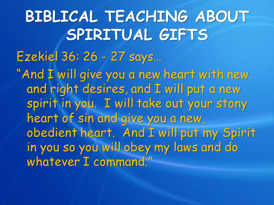 LEADERSHIP THROUGH YOUR SPIRITUAL GIFTS - ppt video online download