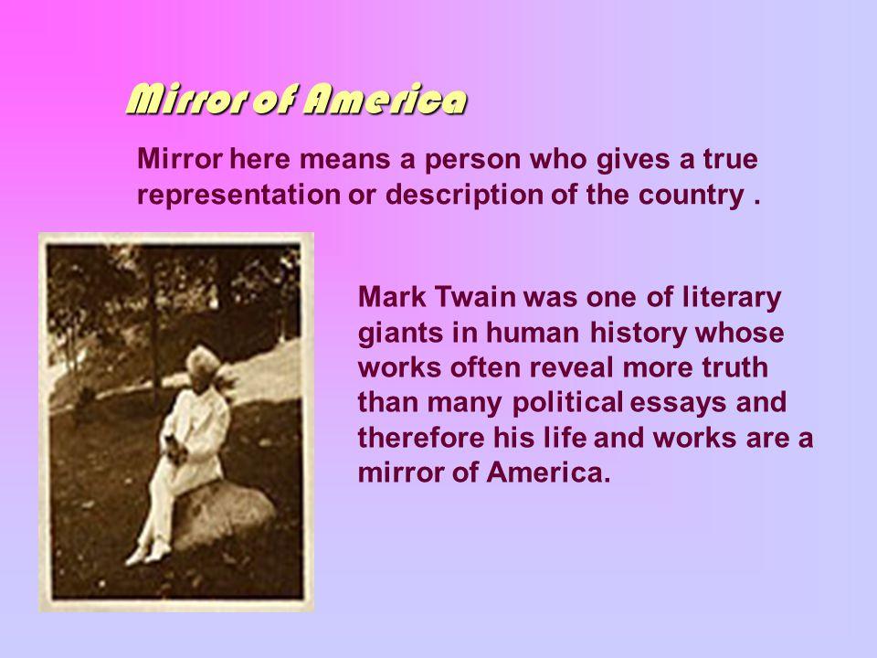mark twain info essay