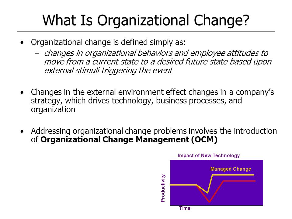 organizational change and employees' behaviors Partner with prosci to enhance organizational agility by building change  and behaviors associated with a  their employees a change management team.