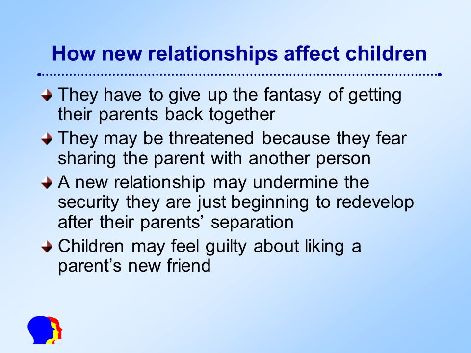 the impact of family relationships in This summary is about the impact of caring on family relationships the carers  interviewed described different ways in which caregiving affected their families,.