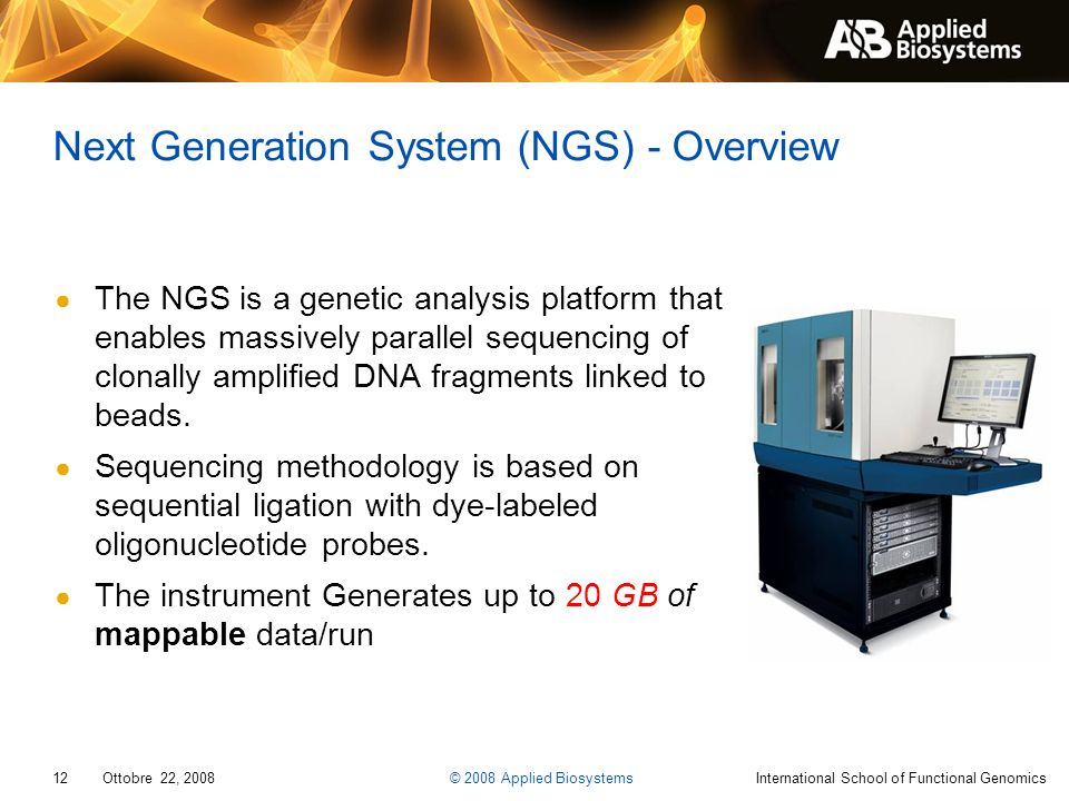 Next Generation System (NGS) - Overview