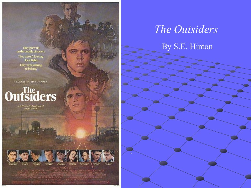 the idea of social class in the novel the outsiders by se hinton Se hinton's the outsiders is a book about a boy named ponyboy who is apart of a gang called the at first ponyboy has know idea what he was talking about.