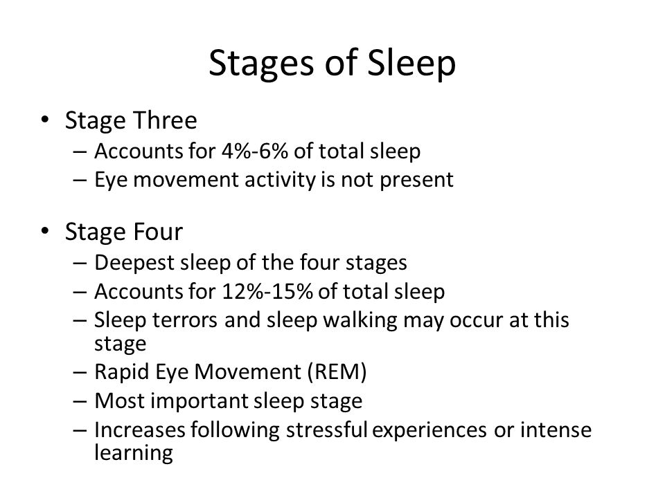 theories on stages of sleep It would be difficult to consider biorhythms without looking at the stages of sleep for example biological rhythms introduction  theories of sleep.