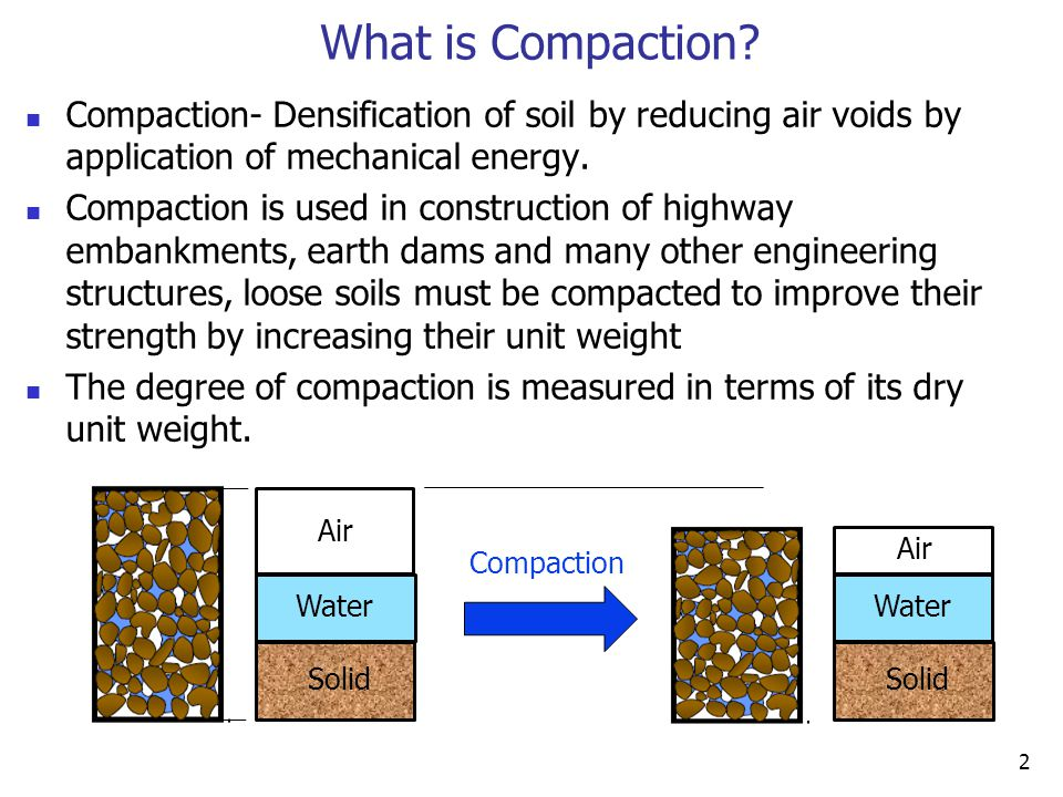 Fig 45 use well point pumping for lowering groundwater for Soil compaction