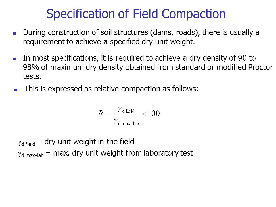 7 soil compaction das chapter 6 ppt video online for 90 soil compaction