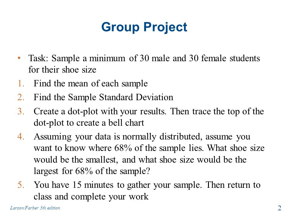 Is Male Shoe Size Normally Distributed