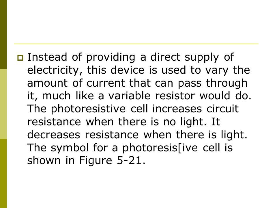 Unique Variable Resistance Symbol Ornament - Electrical Circuit ...