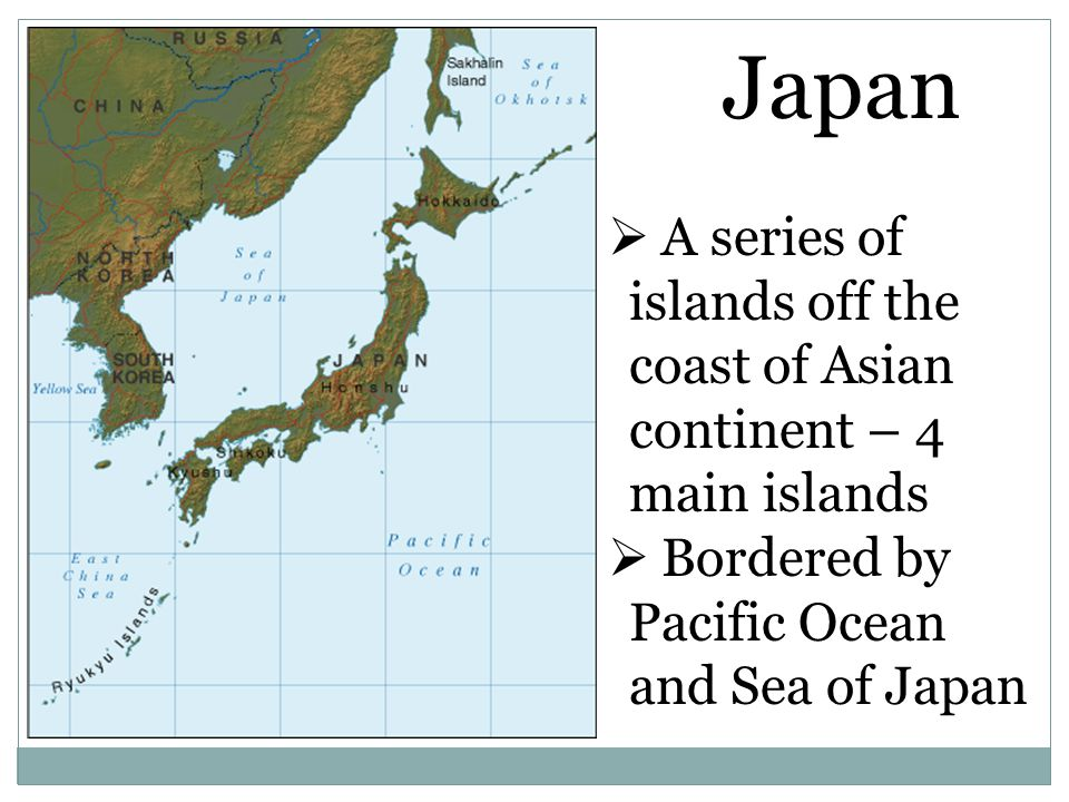 Japan Japan Ppt Video Online Download - Japan map 4 main islands