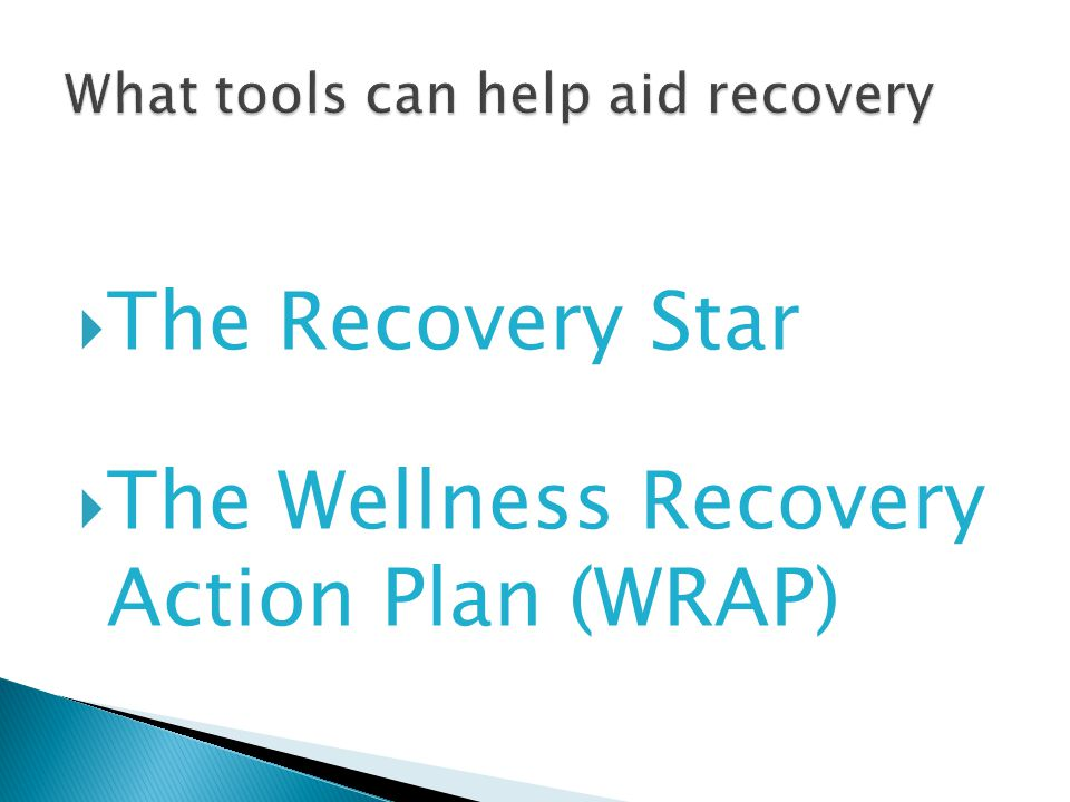 Recovery Mental Health ppt download – Wellness Recovery Action Plan Worksheets