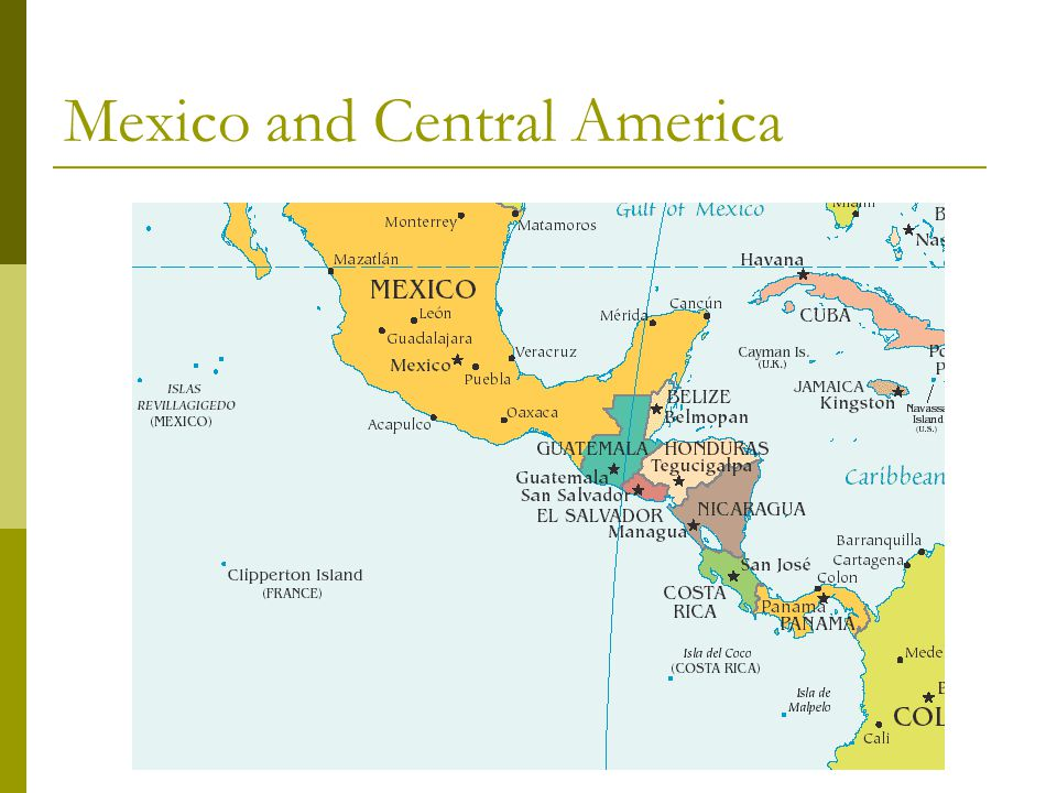 Latin americas physical geography ppt download 8 mexico and central america sciox Images
