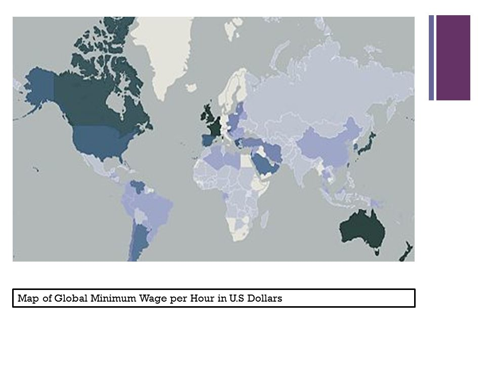 The Minimum Wage Crisis Ppt Download - Minimum wage us map