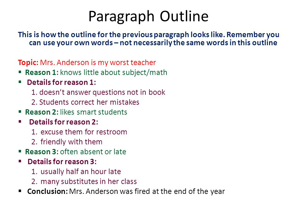 5 paragraph essay aliens Example of 5 paragraph essay outline c lives in a rest-home for the elderly and is visited every now and then by outlines sixth, example, put it away and then do the essay.