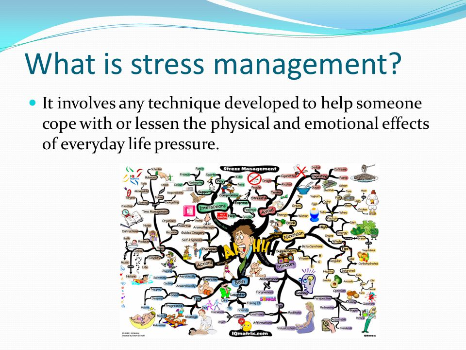 stress management in our everyday life Stress is actually a normal part of life at times, it serves a useful purpose stress can motivate you to get that promotion at work, or run the last mile of a marathon.