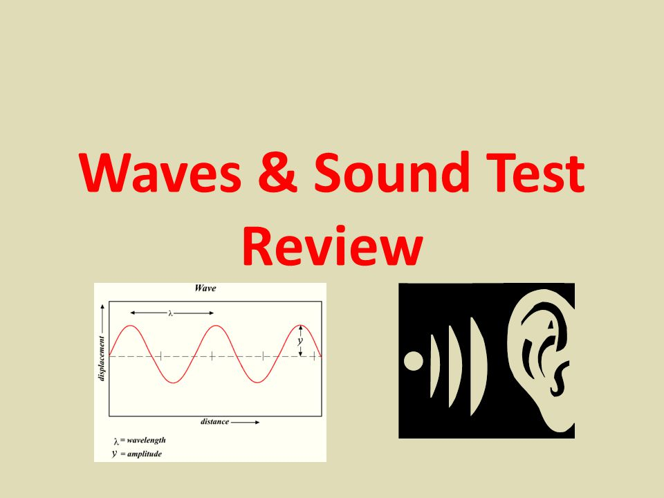 Waves & Sound Test Review