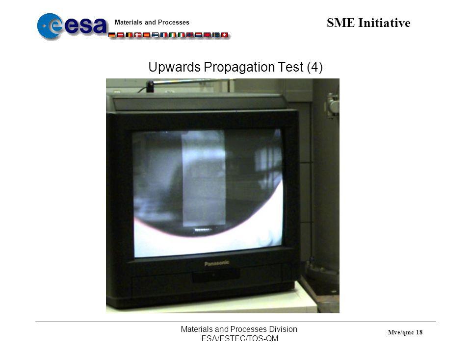 Upwards Propagation Test (4)