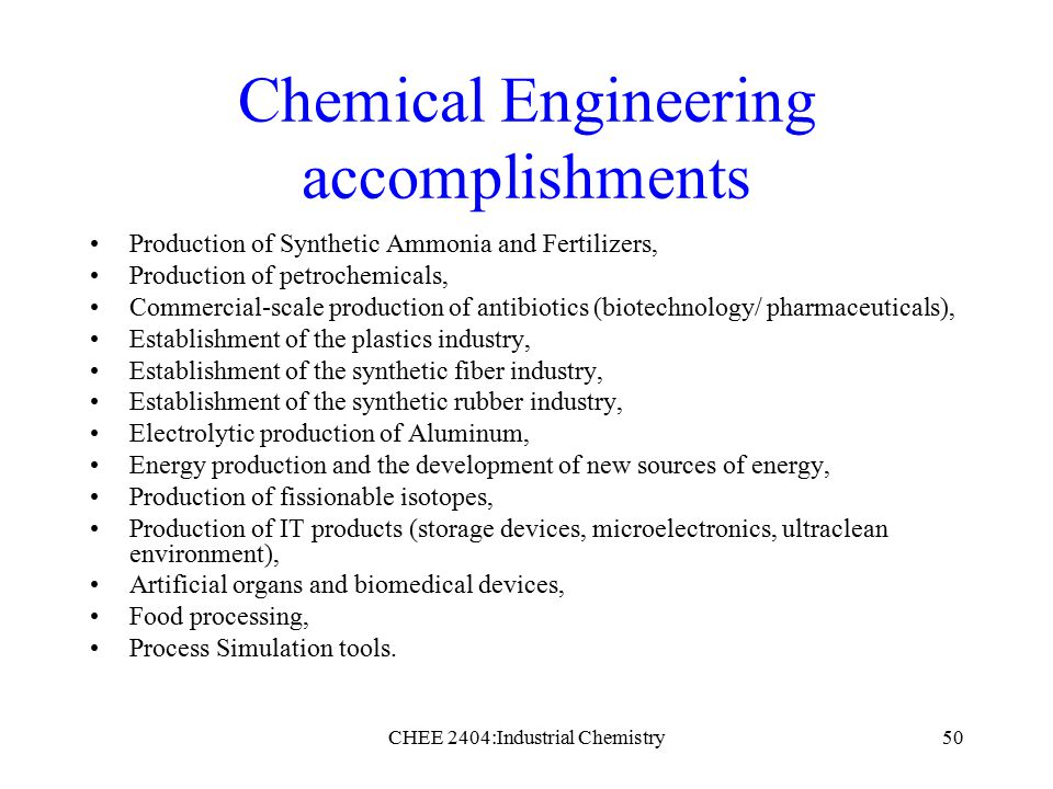 the history of chemical engineering A brief history of chemical engineering at carnegie mellon by professor herb toor chemical practice was one of the original courses of study offered by the carnegie technical schools when they opened their doors on oct 16, 1905.