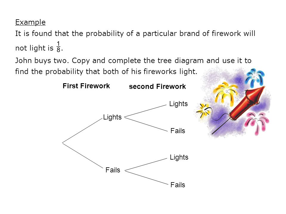 Probability tree diagrams ppt video online download 3 example ccuart Choice Image