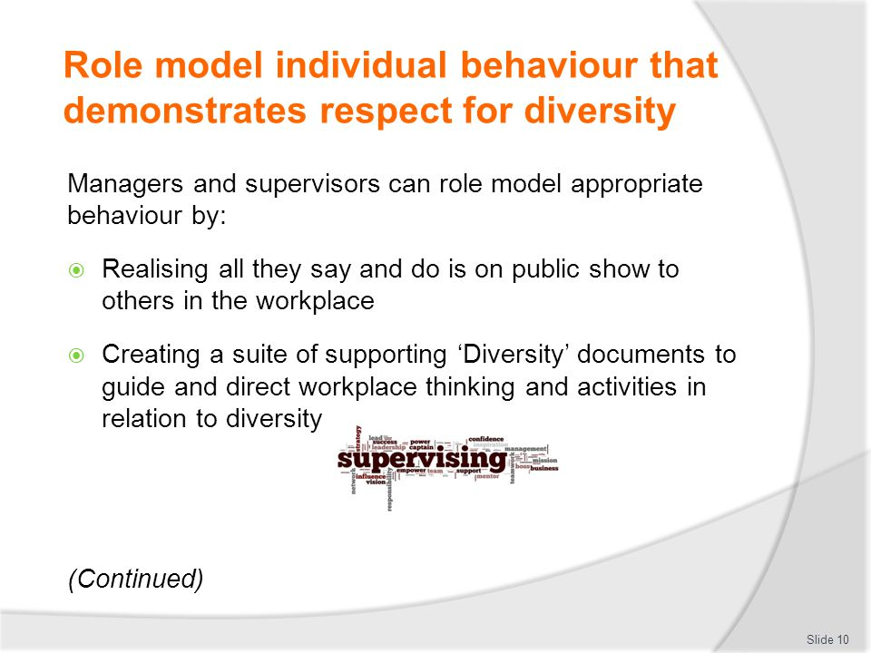 respect for diversity in the workplace