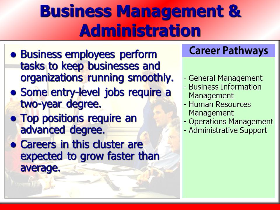 Business Management & Administration