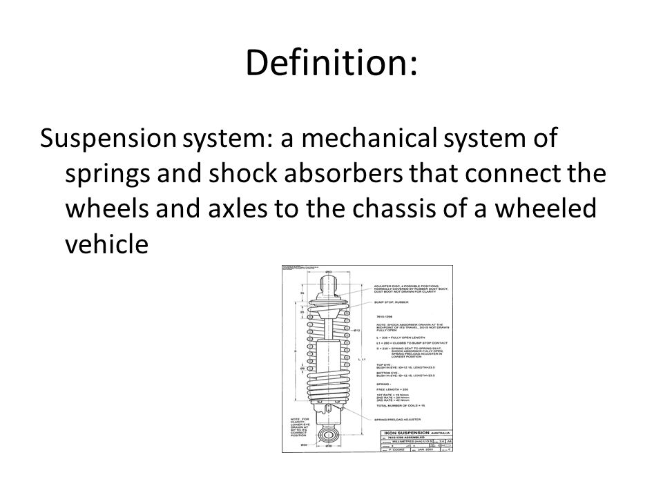 passive semi active and active suspension system ppt video online download