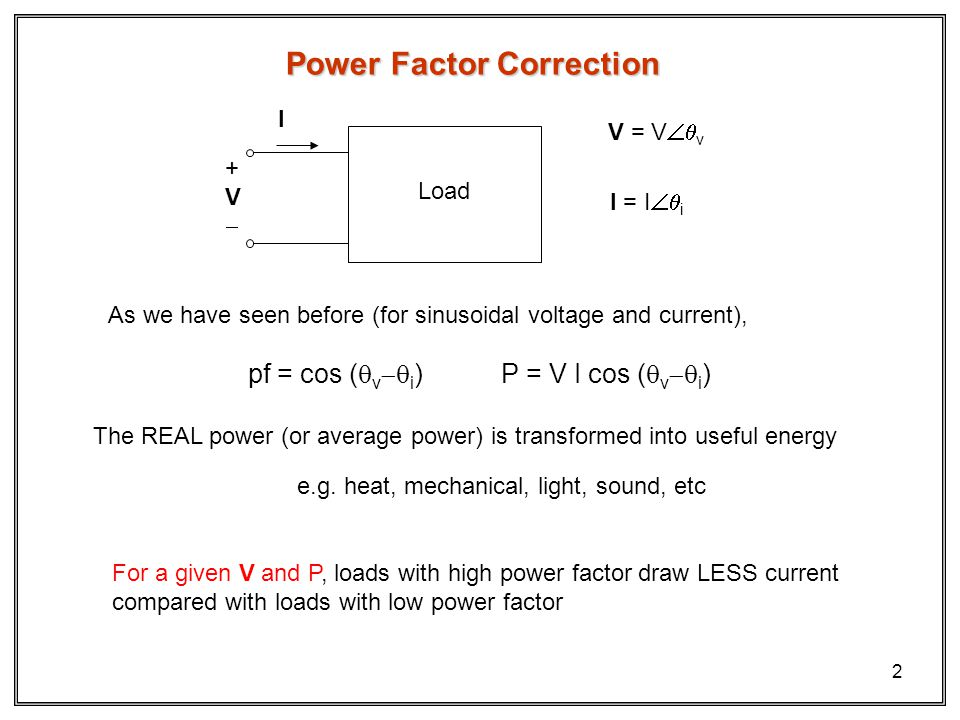 Power Factor Correction Capacitor Bank Ppt 28 Images