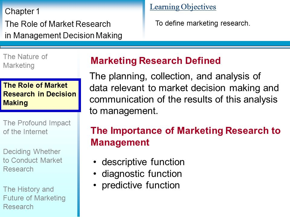 an analysis of the importance and definition of research Observational research is particularly prevalent in the social sciences and in marketing it is a social research technique that involves the direct observation of phenomena in their natural setting this differentiates it from experimental research in which a quasi-artificial environment is created to control for spurious factors, and where at least one of the.