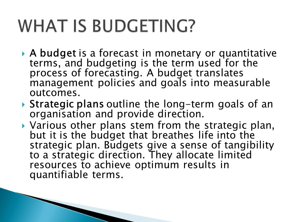 Budgeting According to hotel management consultant Kirby Payne ...