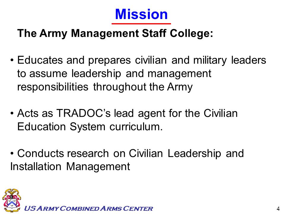 Management and leadership paper the army